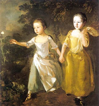 Gainsborough_-_The_Painters_Daughters_Chasing_a_Butterfly